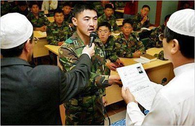 tentara korea masuk islam